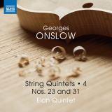 Elan Quintet-George Onslow: String Quintets 4 Nos. 31 & 23