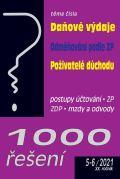 Poradce 1000 řešení 5-6/2021 Daňové výdaje, Odměňování podle zákoníku práce, Poživatelé důchodu ve zdravotní