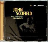 Scofield John That's What I Say