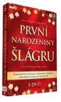 Česká muzika 1. narozeniny Šlágr TV - 5 DVD