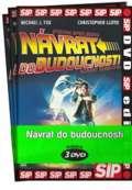 NORTH VIDEO Návrat do budoucnosti 1 - 3 / kolekce 3 DVD