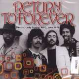 Return To Forever Electric Lady Studio, NYC, June 1975