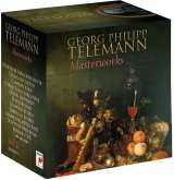 Telemann G.P.-Meisterwerke Box-Set
