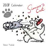 Simon's Cat Square Calendar with Stickers 2018