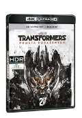 Bay Michael Transformers: Pomsta poražených - 2BLU-RAY (UHD+BD)