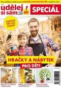 Mladá fronta Udělej si sám Speciál 1/2018 - Hračky a nábytek pro děti