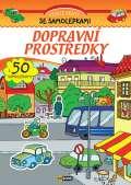 EX book Dopravní prostředky - Veselé sešity se samolepkami