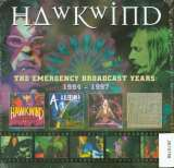 Hawkwind Emergency Broadcast Years: 1994-1997 Box-Set, Original Recording Remastered