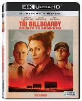 McDormand Frances Tři billboardy kousek za Ebbingem (4K Ultra HD+Blu-ray)
