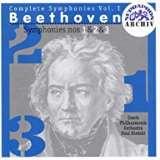 Supraphon SUDE Symfonie č. 1-3, Egmont (předehra)