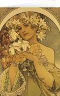 Presco Group Blahopřání Alfons Mucha – Flower