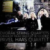 """Supraphon Dvořák: Smyčcové kvartety G dur, op. 106 a F dur, op. 96 """"Americký"""""""