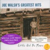Walsh Joe Greatest Hits