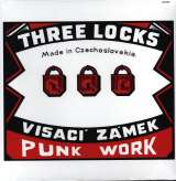 Visací Zámek - Three Locks