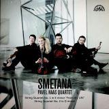 Smetana Bedřich;Pavel Haas Quartet-Smyčcové kvartety č. 1 e moll & č. 2 d moll