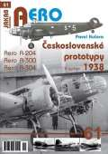 Kučera Pavel Československé prototypy 1938 - Aero A-204, A-300, A-304