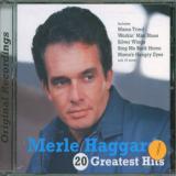 Haggard Merle 20 Greatest Hits